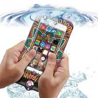 Universal Goddess Waterproof Bag Support Touch Transparent Window For Cell Phone Under 6 Inch