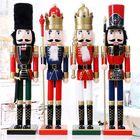 Meilleurs prix 60cm Nut Cracker Soldier Christmas Decoration Nutcrackers Xmas Kitchen Wooden Doll