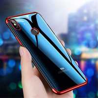 Bakeey Plating Soft TPU Back Cover Protective Case for Xiaomi Redmi Note 6 Pro
