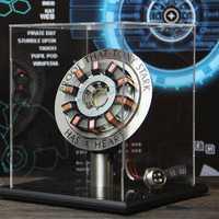 1:1 Arc Reactor DIY Model MK2 Led Light Mark Chest Tony Heart Lamp Light DIY Model Science Toy