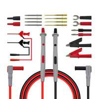 Cleqee P1503D Multimeter Probes Replaceable Needles Test Leads Kits Probes for Digital Multimeter Feelers for Multimeter Wire Tips