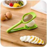 Manual Plastic Eggs Mushroom Slicer Kiwi Fruits Peeler Stainless Home Fruit Slicing Tools