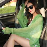 Women Chiffon Breathable UV Protection Shawl
