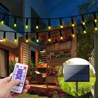 22M 200 LED Solar Powered Fairy String Light Party Christmas Decor Garden Outdoor Remote Control
