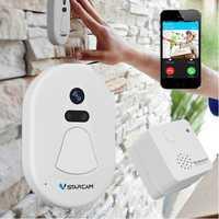 Wireless WIFI Smart Doorbell Door Camera Phone Ring HD Photo Home Indoor Outdoor