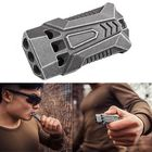 Promotion IPRee® 120db EDC Emergency Aluminum Whistle Camping Survival Keychain Kit