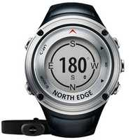 NORTH EDGE FOURIER Outdoor GPS Compass Altimeter Barometer Professional Sport Ditital Watch