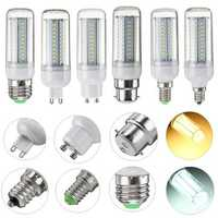 6W E27 E14 E12 G9 GU10 B22 SMD4014 LED Corn Light Bulb Lamp Non-dimmable