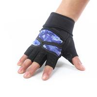 BIKIGHT Cycling Gloves Half Finger Silica Gel Cushion Breathable Wear Proof Gym Exercising Bike Gloves