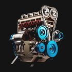 Offres Flash Teching V4 DM13 Four-Cylinder Stirling Engine Full Aluminum Alloy Model Collection