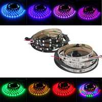 WS2811 5M 240 SMD 5050 LED Strip RGB Dream Color Light Non Waterproof DC 12V