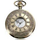 Buy at Best Price DEFFRUN Vintage Roma Steampunk Quartz Pocket Watch