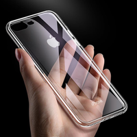Cafele 6D Clear Scratch Resistant Tempered Glass Protective Case For iPhone 7/7 Plus/8/8 Plus