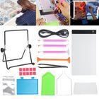 Recommandé 34Pcs LED Light Pad Board Stand Holder 5D Diamond Embroidery Paintings Tools Kit