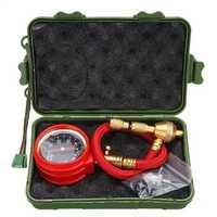 Tyre Deflator Rapid Tire Air Pressure Gauge Pointer Dial Valve Tool Kit
