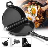 Non-stick Omelet Pan Kitchen Breakfast Skillet Egg Frying Maker Portable Outdoor Cooking Equipment