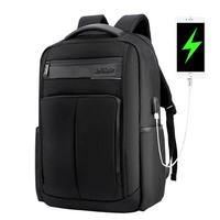 ARCTIC HUNTER B00121C 18 Inch Laptop Backpack USB Charging Laptop Bag Mens Shoulder Bag Business Casual Travel Backpack Korean Style Backpack