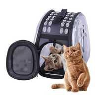 Universal Transparent Pet Cat Puppy Carrier Travel Bag Waterproof Space Capsule Backpack Bag