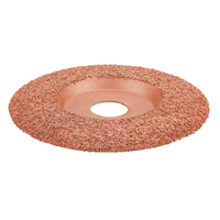 Drillpro 4-1/2 Inch Tungsten Carbide Coating Wood Carving Disc Shaping Disc for Angle Grinder