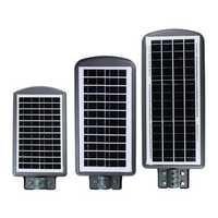 50/100/150LED Solar Powered Light Outdoor Wall Street Lamp Radar Sensor Outdoor