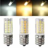 E17 5W 44SMD 2835 LED Ceramics Corn Light Pure White/Warm White/Natural White Lamp AC 110V