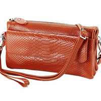 Serpentine Shoulder Bags Women Mini Crossbody Bags Multilayer Clutches Bags