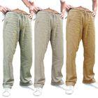 Meilleur prix Mens Ethnic Style Cotton Comfy Breathable Straight Leg Pants
