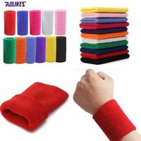 AOLIKES 15cm*7.5cm Gym Sport Protector Wristband Wrist Guard Support Brace Sweatband