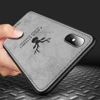 Bakeey Protective Case For iPhone XS Max Fabric Cloth Anti Fingerprint Sweat Proof Back Cover