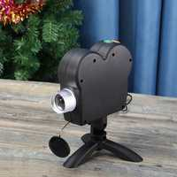 Mini Holiday Video Window Projector Lamp Halloween Christmas Light 12 Movies
