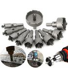 Les plus populaires 10pcs 16mm-50mm Steel Carbide Tipped Drill Bit Hole Saw Cutter