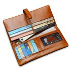 Acheter au meilleur prix Men Womem Genuine Leather Couple Long Wallet Card Holder Pocket Handbag