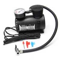 Portable Mini Air Compressor Vehicle Electric Tire Inflator Pump 12V 300 PSI