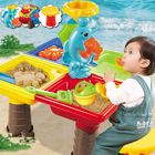Cheap Discount Sand And Water Table Sandpit Indoor Outdoor Beach Kids Children Play Toy Set