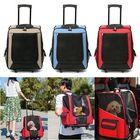 Flash Offers Cat Dog Rolling Back Pack Pet Carrier Travel Airline Wheel Luggage Bag Pouch