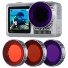 Buy at Best Price Ulanzi OA-9 Purple Red Magenta Dive Lens Filter Kit for DJI Osmo Action Sports Camera