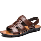 Offres Flash Men's Casual Summer Beach Leather Shoes Sandals