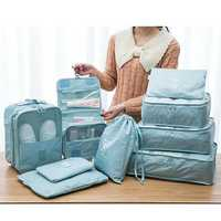 5/7/9 Pieces Organizer Waterproof Bag Travel Bag