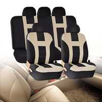 5M Universal Car Front Seat Back Bench Cover Protectors Full Set Washable