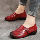 Acheter au meilleur prix Women Hook Loop Pattern Vintage Casual Flat Shoes