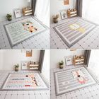 Meilleurs prix Polyester Baby Kids Animal Game Activity Baby Mat Carpet Non-Slip Rug Non Anti Static Mat