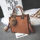 Meilleurs prix Women Leather Handbag Lady Shoulder Bag Tote Crossbody Messenger