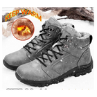 Recommandé TENGOO Men's Winter Fluff Snow Boots Keep Warm Hiking Outdoor Sport Shoes Sneakers
