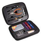 Acheter au meilleur prix JAKEMY JM-P16 12 in 1 DIY Electronic Atomizer Coil Jig Tool Bag Accessories Vape Hand Tool Screwdriver Plier Kit