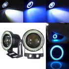Recommandé 2PCS 30W LED Car Fog Lights White with 2.5/3/3.5 Inch COB Angle Eyes Halo Ring Bulb Ice Blue Universal