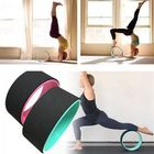 Meilleurs prix 33x12.3cm ABS+TPR Muscle Relaxion Yoga Ring Abdominal Wheel Roller Fitness Strength Training Yoga Circle