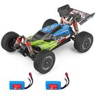 Meilleurs prix Wltoys 144001 1/14 2.4G 4WD High Speed Racing RC Car Vehicle Models 60km/h Two Battery