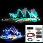 Promotion DIY LED Light Lighting Kit ONLY For LEGO 10234 Sydney Opera House Bricks Toy