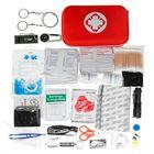 Bon prix 241 Pcs First Aid Kit Emergency Survival Bag Travel Camping Trauma Medical Bag