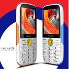Meilleur prix Samgle F7 Caption 3G Network 2.4 inch 1450mAh HD Display Flashlight Lound Speaker Whatsapp Dual SIM Card Dual Standby Feature Phone
